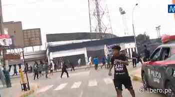 Hinchas de Alianza Lima se enfrentaron afuera del estadio Alejandro Villanueva - VIDEO - Libero.pe