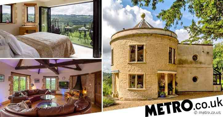 Round home with secret garden studio annexe goes on the market for £845k