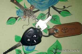 Moradora de Umuarama encontra chave de carro na rua Santa Maria, em Umuarama - OBemdito