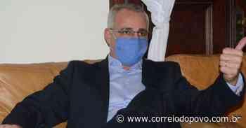 Prefeito de Santa Maria está internado por Covid-19 - Jornal Correio do Povo