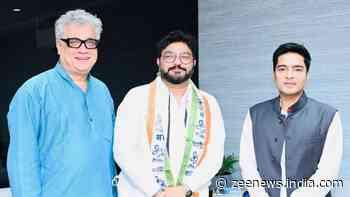 Former BJP MP Babul Supriyo joins Mamata Banerjee`s Trinamool Congress