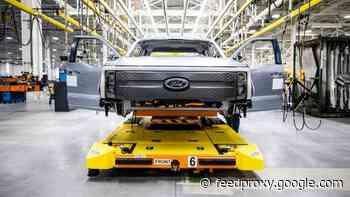 F-150 Lightning pickup enters preproduction
