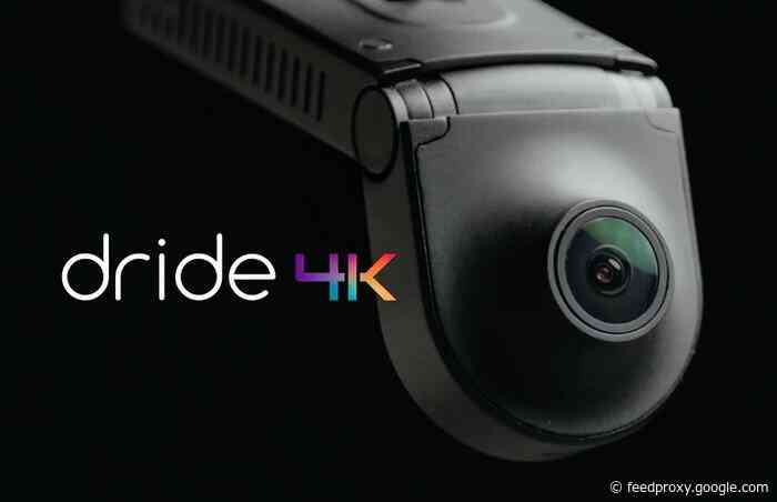 Dride 4K vehicle dash camera with radar motion detection, GPS, 4G LTE and more