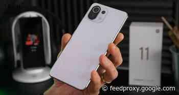 Xiaomi 11 Lite 5G NE smartphone gets unboxed (Video)
