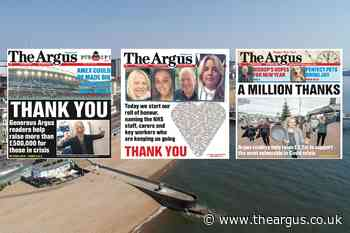 The Argus honoured at this year's Regional Press Awards