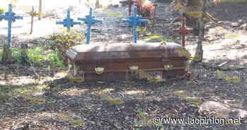 Dejan ataúdes expuestos en cementerio de Pueblo Nuevo - La Opinión