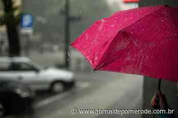 Chuva volumosa é esperada para esta sexta e sábado, em Pomerode - Jornal de Pomerode