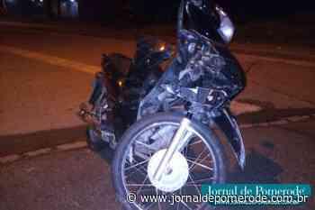 Homem fica ferido em acidente de trânsito, no Testo Rega - Jornal de Pomerode