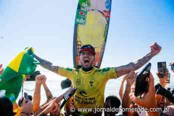 Gabriel Medina torna-se tricampeão mundial de surfe - Jornal de Pomerode