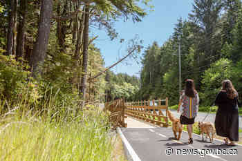 Communities to receive new cycling and walking pathways, connections | BC Gov News - BC Gov News