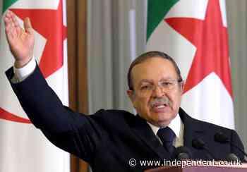 Algeria gives disgraced ex-leader Bouteflika 3-days mourning