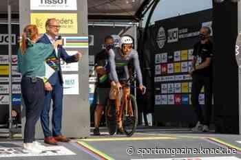 WK wielrennen op gang getrapt met openingsceremonie in Knokke-Heist