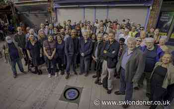"""Rainbow plaque unveiled to commemorate """"My Beautiful Laundrette"""" in Lambeth - South West Londoner"""
