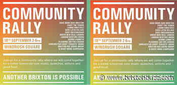 Lambeth Community Rally opposes the rich developers, Sat 18th Sept 2021 - BrixtonBuzz