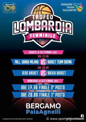 Oggi alle 17.30 Basket Team Crema nel Trofeo Lombardia: semifinale con Sanga - SportGrigiorosso