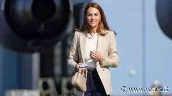 Kate Middleton, il nuovo look con blazer color crema - Vogue Italia