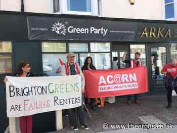 Protesters gather Green Party office over licensing 'backtrack'
