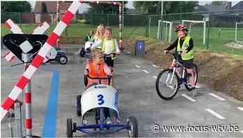 Verkeerspark met overweg voor politiezone Tielt - Focus en WTV