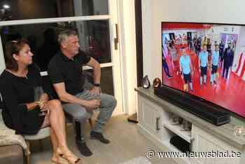 Europees voetbalavondje ten huize Bataille in Bredene (Bredene) - Het Nieuwsblad