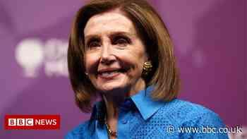US politician Nancy Pelosi heads to Chorley, Lancashire for G7 summit