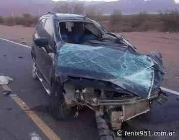 Murió hombre al volcar un vehículo a pocos kilómetros de Villa Union - RADIO FÉNIX 95.1