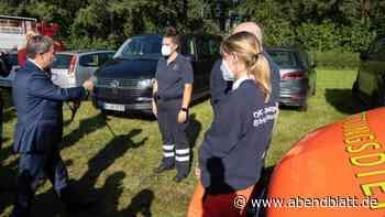 Newsblog: Vor Laschet-Auftritt: Mann von Rettungsdienst wiederbelebt