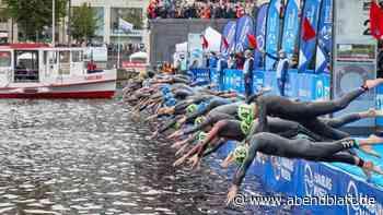Triathlon: Triathlon-Weltserie in Hamburg: Lindemann sprintet zum Sieg