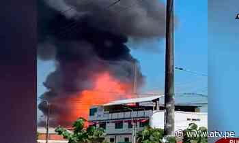 Pucallpa: Tres heridos tras explosión en planta envasadora de gas - ATV.pe