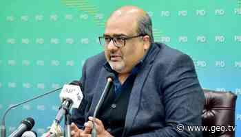Shahzad Akbar tests positive for coronavirus - Geo News