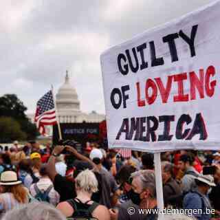 Betogers verzamelen in Washington om relschoppers Capitool te steunen