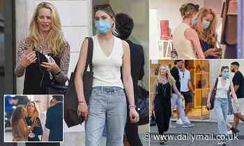 Laurene Powell Jobs and daughter Eve are spotted shoe shopping at Dolce & Gabanna in Rome