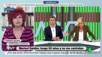 """El consejo de Marisol Galdón a Cristina Pardo para visibilizar su situación: """"Aprovecha, porque a partir - LaSexta"""