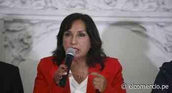 """Dina Boluarte: """"El Consejo de Ministros abordó la competencia del Ejecutivo ante el vacío legal del destino del cuerpo de Abimael Guzmán"""" - El Comercio Perú"""