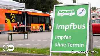 Coronavirus digest: German vaccine take-up higher in north - DW (English)