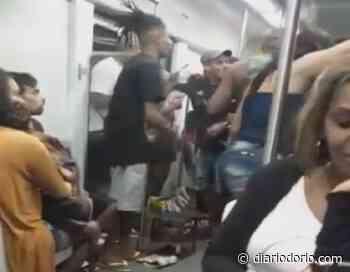 'Suco de Rio de Janeiro'! Passageiros fazem churrasco dentro de trem da SuperVia; assista - Diário do Rio de Janeiro