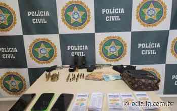 Milicianos são presos em flagrante extorquindo comerciantes no Itanhangá - O Dia
