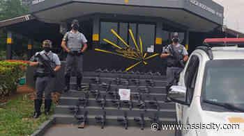 Polícia Federal impõe sigilo em investigação sobre fuzis apreendidas em Assis - Assiscity