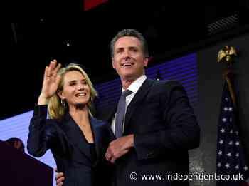 Two of California governor Gavin Newsom's children test positive for Covid-19