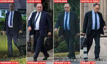 Bank of England Governor Andrew Bailey leaves for work at 6am and exits office at 6pm