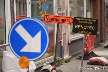 Maand lang verkeershinder Hoevensebaan (Kapellen) - Gazet van Antwerpen Mobile - Gazet van Antwerpen