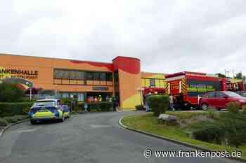 Naila - Feuerwehr-Großeinsatz an der Frankenhalle - Frankenpost
