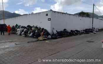 San Cristóbal lleno de basura por el paro del SUTRAM - El Heraldo de Chiapas
