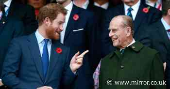 Prince Harry shares grandfather Philip's blunt advice before he served in Afghanistan