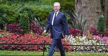 Tory Michael Gove hands himself new title after Boris Johnson's Cabinet reshuffle