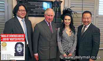 Charles and the Chinese donor who's a wanted man in Taiwan