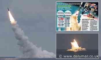 Biden's warning to China: USS Wyoming test launches Trident II nuclear missiles off Cape Canaveral