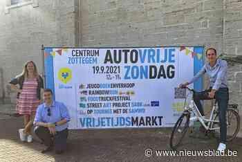 Groot volksfeest tijdens Autovrije Zondag (Zottegem) - Het Nieuwsblad