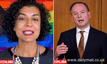 NHS's diversity tsar is paid £35,000 more than its chief executive