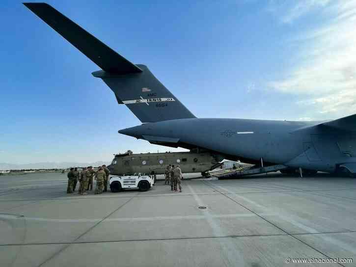 EE UU anuncia la evacuación de 28 estadounidenses más de Afganistán
