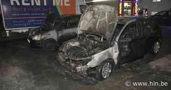 Twee wagens in brand gestoken in Antwerpen Noord - Het Laatste Nieuws